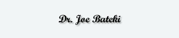 Dr. Joe Bateki