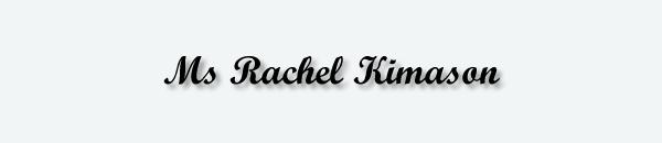Ms Rachel Kimason