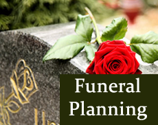 planning funeral